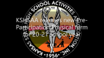 KSHSAA releases new Pre-Participation Physical Form for 20-21 school year