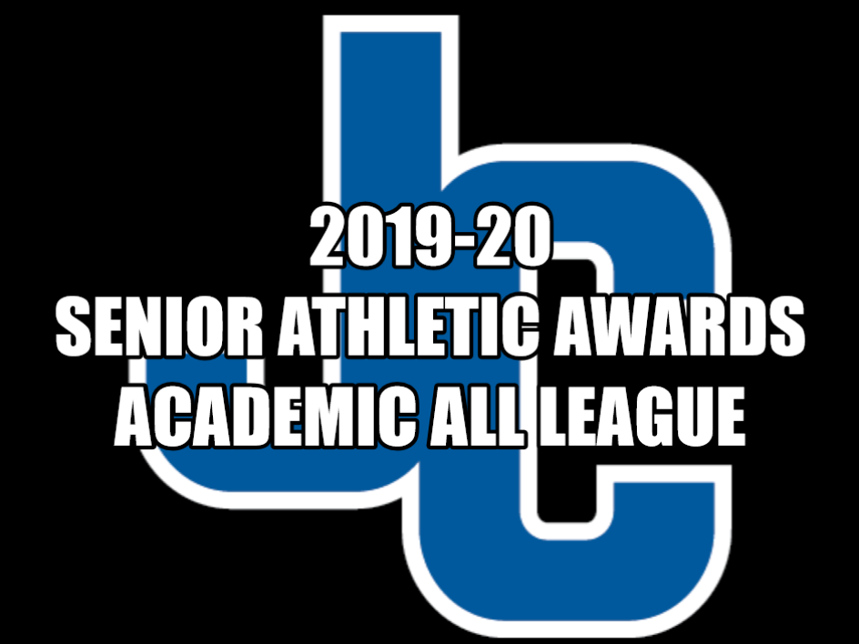 2019-20 Senior Athletic Awards / Academic All League Announced
