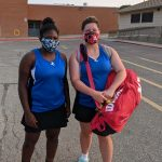 Lady Jay Doubles Team Finishes Second at Topeka High Invite