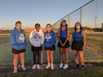 Lady Jay Tennis Picks Up Wins at Washburn Rural