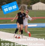 Girls Soccer Try-outs: 4 Days Away!