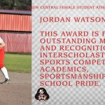 MS. PIRATE STUDENT ATHLETE OF THE YEAR