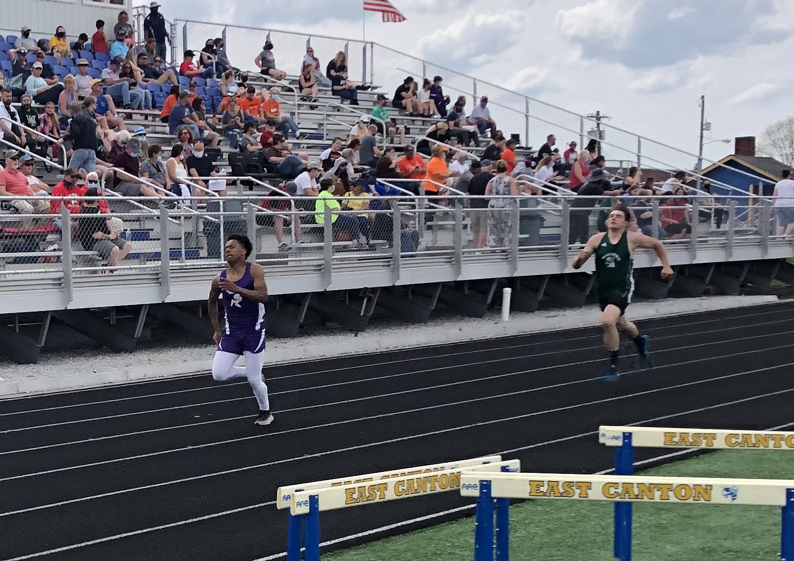 Short Handed Track Team Gives All at East Canton Invitational