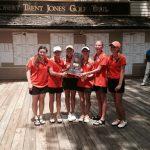 Girls' Golf Wins State