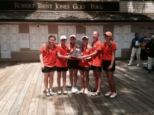 Girls Golf 6A State Champs