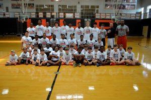 Coach Burkett's Basketball Camp 2014