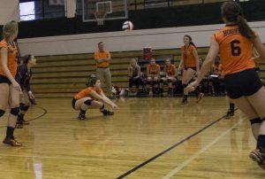 Varsity Volleyball First Match