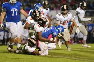 Varsity FB vs Tuscaloosa County (2014-10-10)