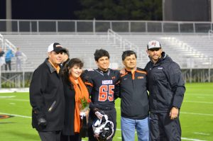 Varsity FB/Cheerleading Senior Night (2014-10-31)