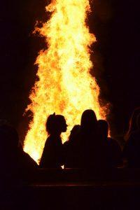 Varsity FB Bonfire (2014-12-01)