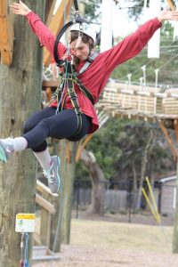New Gallery: Lady Bucs Tackle Charleston Ropes Course