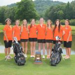 Lady Bucs Lead After Round 1 of March Madness Golf Tournament