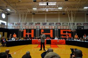 31 Athletes Sign College Scholarships on Signing Day
