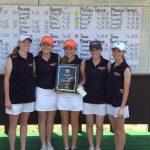 Lady Bucs Win March Madness Golf Tournament
