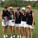 Lady Bucs win Hike the Hills Golf Tournament