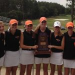 Lady Bucs Golf Defend as State Champions