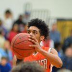 Hoover High School Boys Varsity Basketball beat HOMEWOOD* 64-63