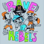 Vestavia Game day Shirts- Rave the Rebels
