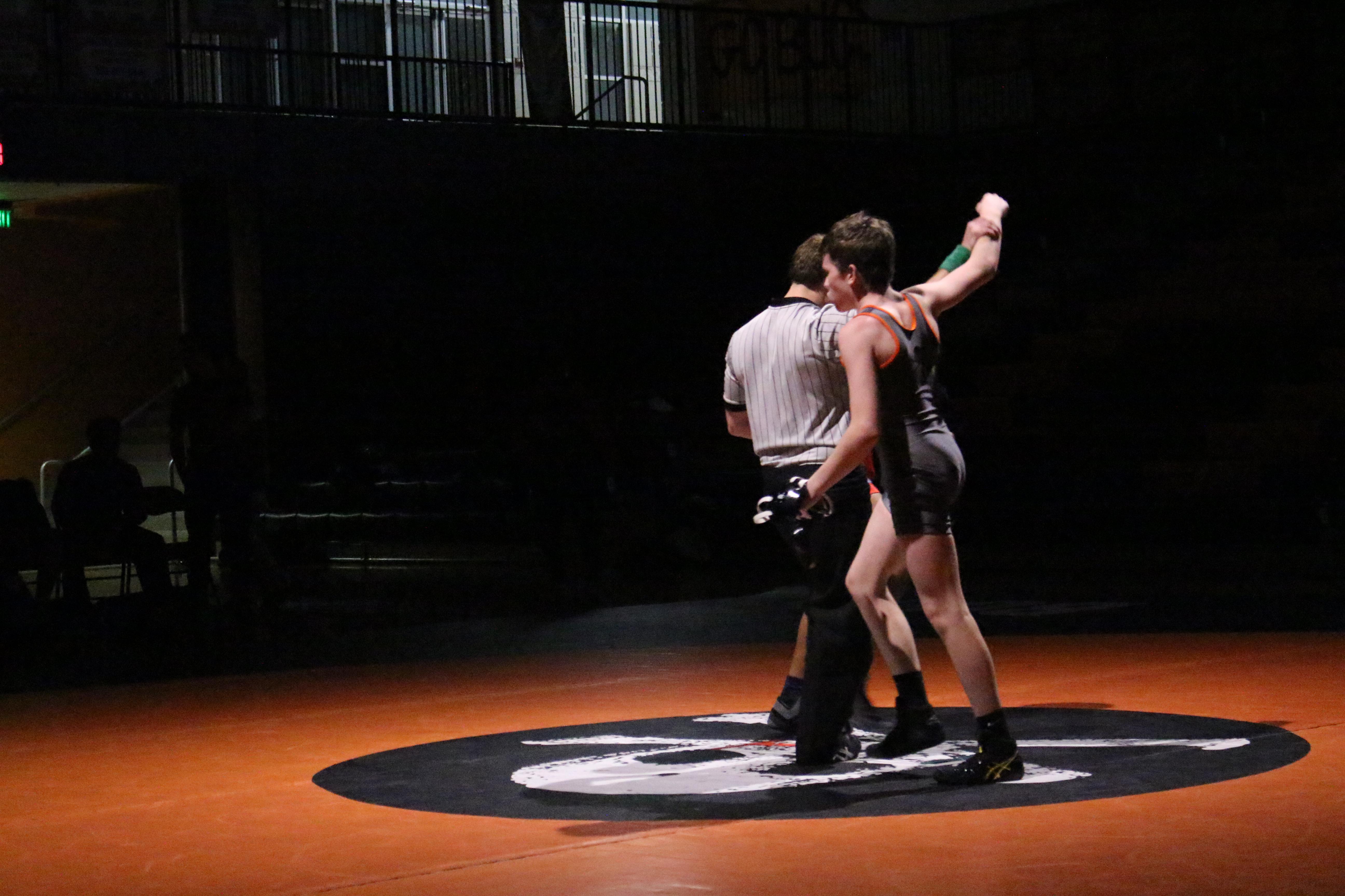 Wrestling Duals Big win!!!