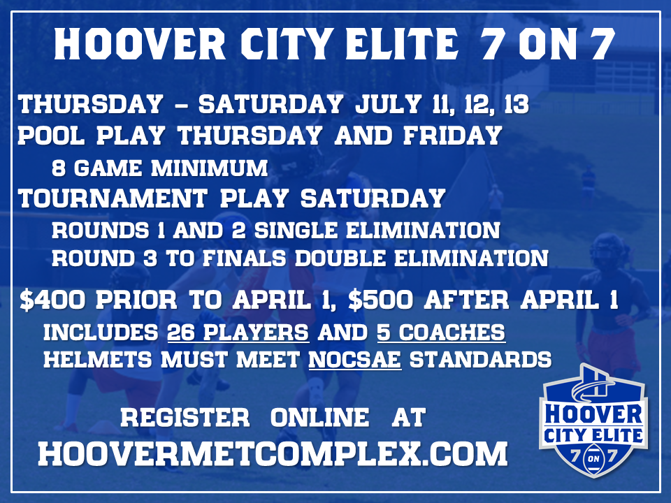 7 on 7 THIS SUMMER