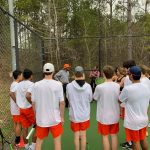 Girls Varsity Tennis falls to Mountain Brook 8 – 1