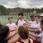 Boys Varsity Tennis beats Mountain Brook 5 – 4