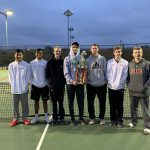 Boys Varsity Tennis finishes 1st place at The Decatur Tennis  Tournament