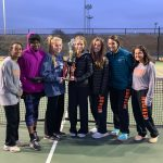 Girls Varsity Tennis finishes 2nd place at Decatur Tournament