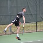 Boys Varsity Tennis falls to Briarwood Christian School 7 – 2