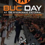 Buc Day at the Galleria Sunday