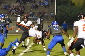 Varsity FB vs Tuscaloosa County (2019-10-03)