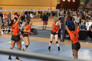 Hoover Girl's Varsity Volleyball Beats Enterprise-Advances to Final 4 10/30/19