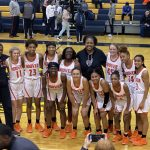Girls Varsity Basketball beats Houston, TN 47 – 45