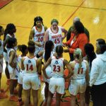 Girls Varsity Basketball beats Oak Mountain 70 – 22; move to 4-0 in Area play!