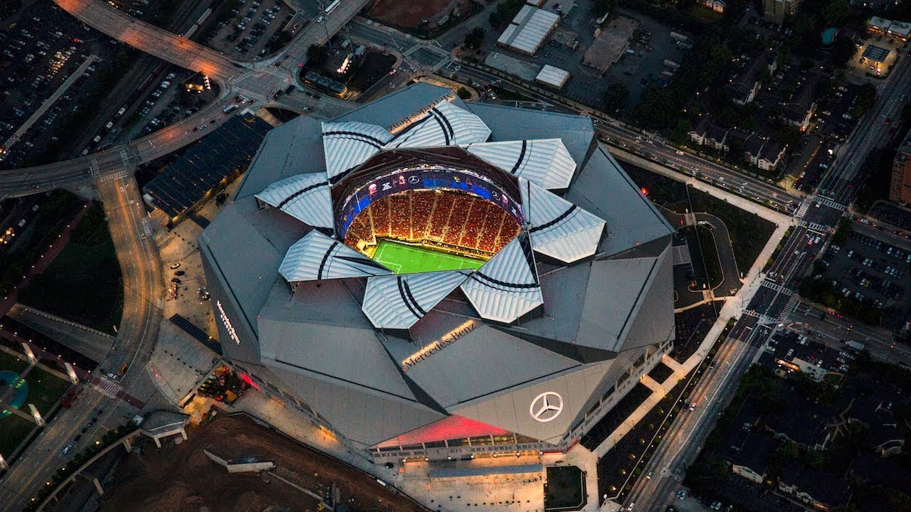 Words of Wood- Football opens in Mercedes Benz Dome