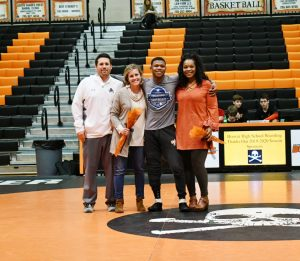 Varsity Wrestling Senior Night vs. Vestavia 1/16/20
