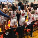 Girls Varsity Basketball beats Thompson 64 – 25