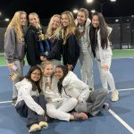 Girls Varsity Tennis finishes 2nd place at Hoover Met Tournament