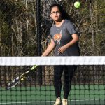 Girls Varsity Tennis beats Tuscaloosa County 8 – 1