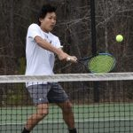 Boys Varsity Tennis falls to Spain Park 6 – 3