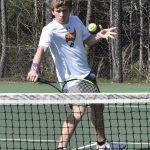Boys Varsity Tennis falls to Vestavia Hills 7 – 2