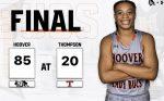 Girls Varsity Basketball beats Thompson 85 – 20