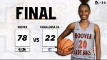 Girls Varsity Basketball beats Tuscaloosa County 78 – 22