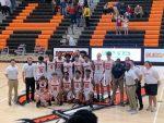 Boys Varsity Basketball beats Oak Mountain 54 – 43