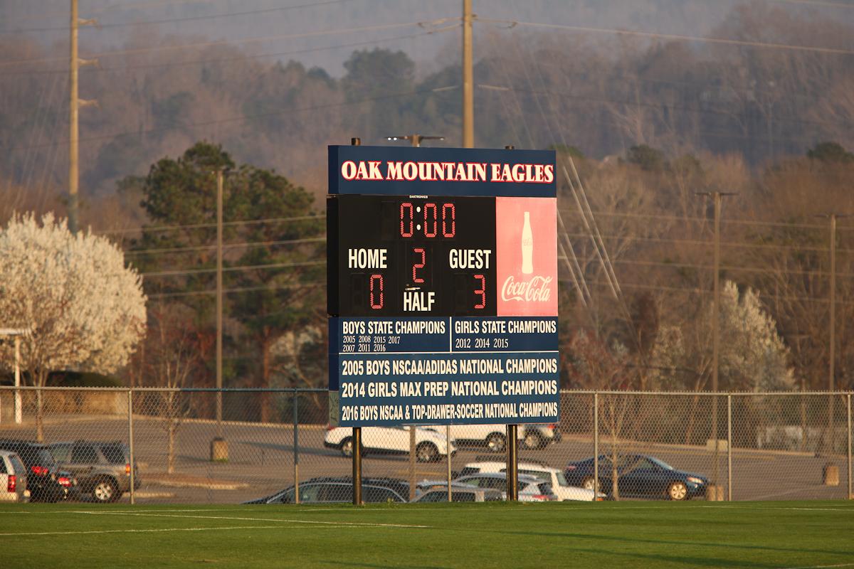 Boys Freshman Soccer vs Oak Mountain