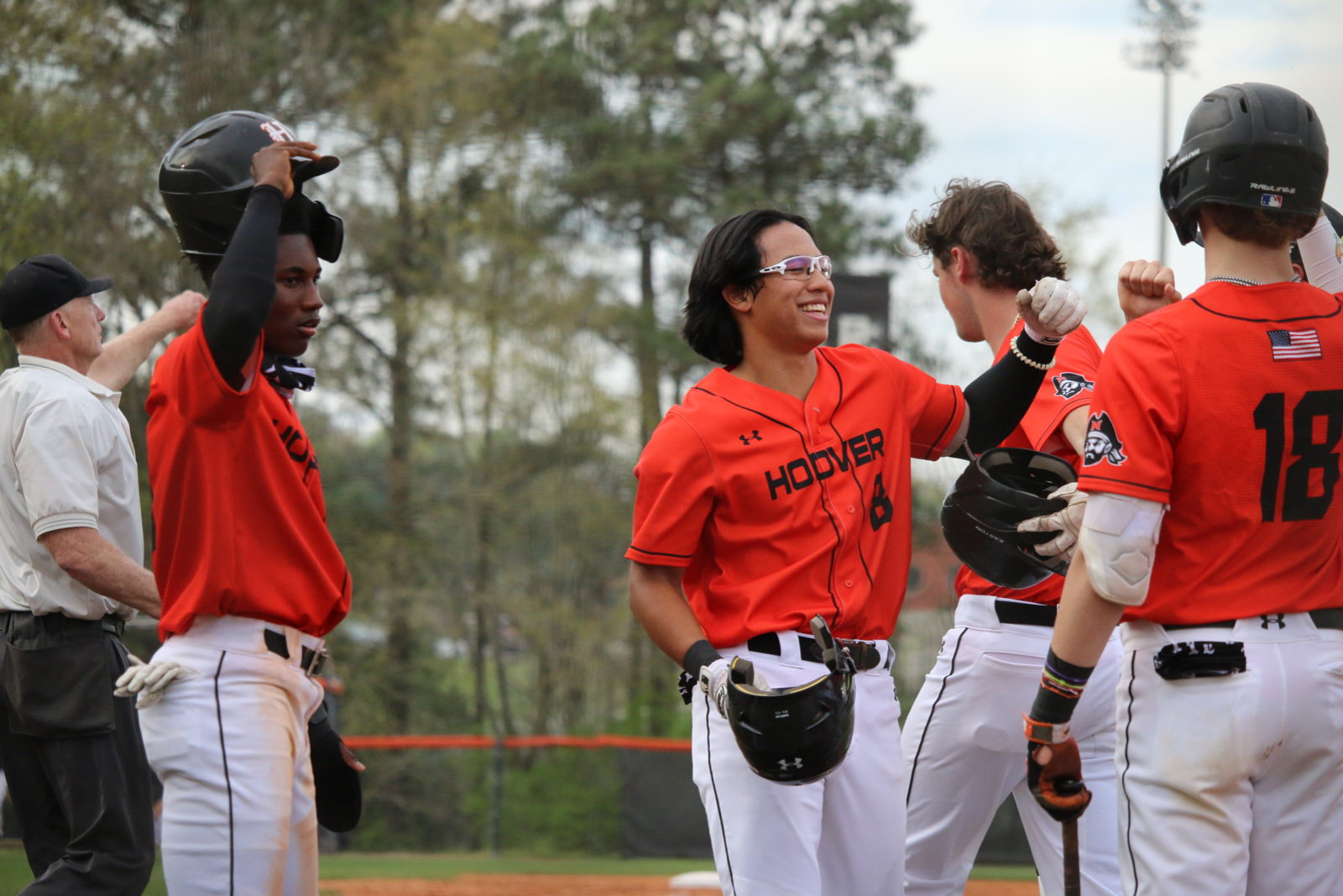 Hoover Varsity Baseball vs. Grissom. Game 1.  3.30.21