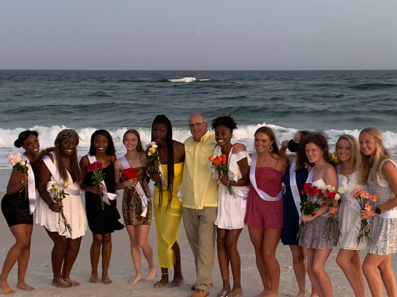 """Congratulations to our Track & Field """"Beauty Walk"""" Seniors competing in the State Meet in Gulf Shores!"""