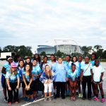 Lady Falcon Basketball Participated in MDA Muscle Walk, September 20