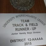 Great Night for JV Boys Track