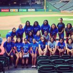 Lady Falcons Basketball Volunteers for 2nd Year at MDA Muscle Walk